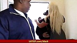 Teen blonde bang 44s
